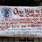 Prayer Services Sign
